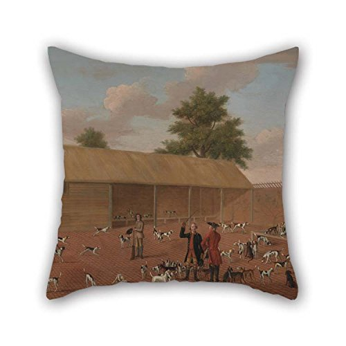 Oil Painting Thomas Butler Of Pall Mall - Learning About The Hounds Throw Cushion Covers 18 X 18 Inches / 45 By 45 Cm For Bedding Dining Room Kids Room - Pall Mall Brands