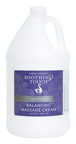Soothing Touch Balancing Massage Cream, 1 Gallon w/Pump