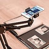Photomyne Long Flexible Phone Mount with Clamp 8x8