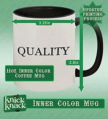 #hoa - 11oz Hashtag Ceramic Colored Handle and Inside Coffee Mug Cup, Yellow