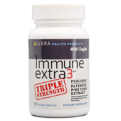 Allera Health Products Immune Extra 3 - Triple Strength - 60 Count - Pine Cone Extract - May Support Immune Health