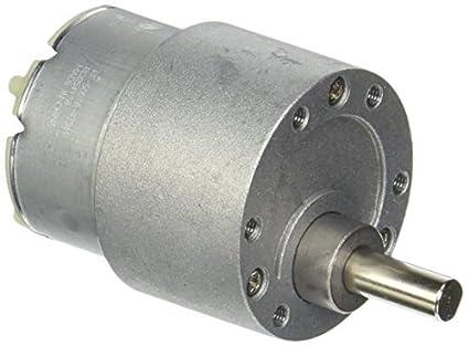 DealMux 37 milímetros de diâmetro 30rpm DC 6V 0.15A velocidade Reduzir motor engrenado