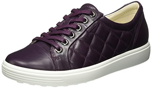 mauve 7 Ladies Violet Femme Bass Ecco Baskets Soft qPBAAp