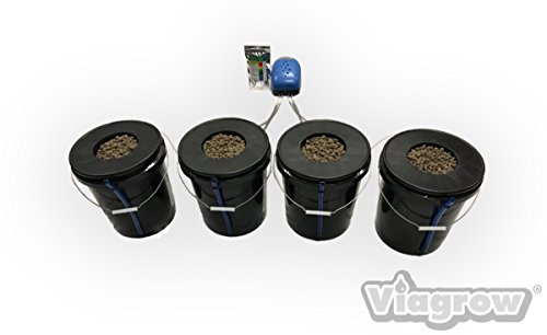 New Viagrow VDIY Deep Water Hydroponic 4 Plant System Hydroponic System 2