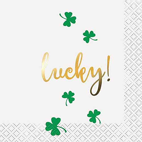8bb47fc5932 St. Patrick s Day Napkins   St. Patrick s Day Party Supplies