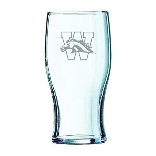 Western Michigan University-Irish Pub Glass