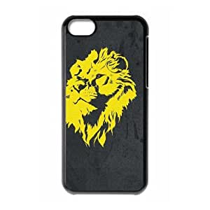 iPhone 5c Cell Phone Case Black Vertical Banner Lion of Judah OJ657064