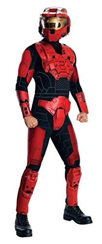 Halo Deluxe Spartan Costume, Red, X-Large -