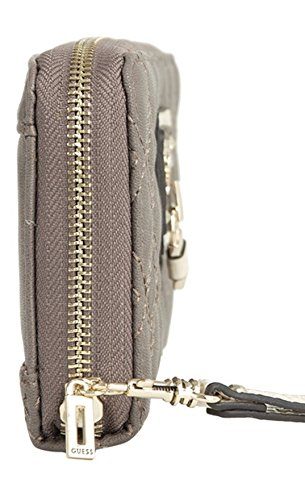GUESS Liane SLG Zip Around Clutch Wallet, Taupe