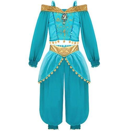 [Disney Store Jasmine Costume From Aladdin [ 2 , 3 ] - [ 10 ] (XXS 2-3 XX Small)] (Jasmine Costume Disney)
