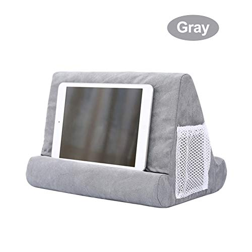 combnine Soft Pillow for iPads, Pillow Lap Stand for Tablets, eReaders, Smartphones, Books, Magazines