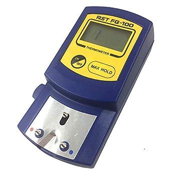 5 St/ücke Bleifrei Sensoren 0-700C TOOGOO FG-100 Digitale L?tkolbenspitzen Thermometer Temperatur Tester F/ür L?tkolbenspitzen