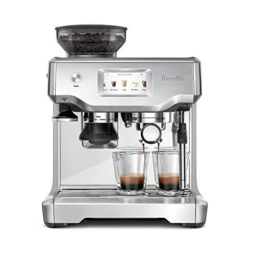 Breville Barista Touch Semi-Automatic Touchscreen Espresso Machine Bundle w/Extra ClaroSwiss Filter Included – BES880