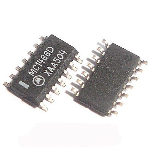 Sruik Tool 50 Pcs MC1488DR2G SOP-14 MC1488D MC1488 Quad Line EIA−232D Driver by Sruik Tool (Image #1)