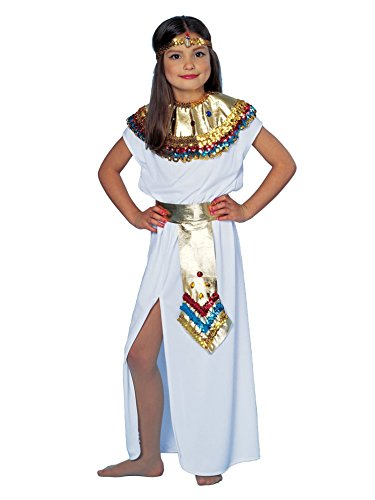 Egyptian Costume For Girls (Cleopatra Queen Costume Girl - Child (8-10))