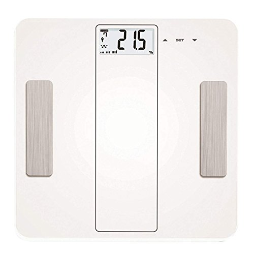 MUTANG Smart Body Scale Bluetooth 4.0 For Smart Phones 180 Kg/ 400 Lb Digital Bathroom Scale/Electronic Scale White