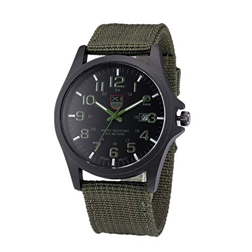 Military Watch,Men Analog Watches Army Filed Tactical