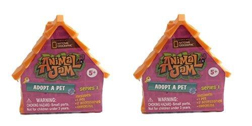 Animal Jam Adopt a Pet Series 1 Mystery Mini (Set of 2 Random Figures)