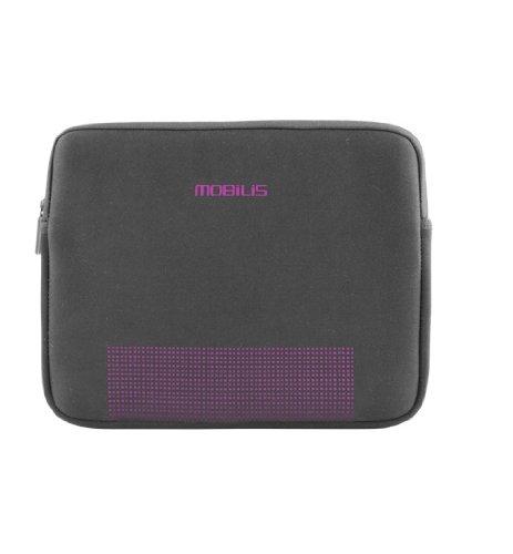 Mobilis 00701 SLV - 242C Laptoptasche für Laptops (7 Zoll/9) - Noir/Violet - - Noir/Violet hijMNrfbWz