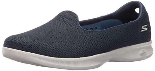Skechers Performance Women's Go Step Lite-Origin Walking Shoe, Navy/Gray, 8.5 M US