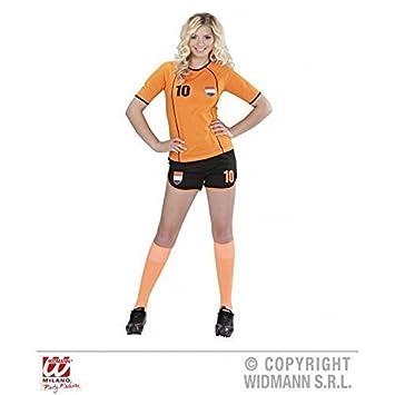 Traje fubolista PAÍSES BAJOS/ HOLANDA / niederländisches Camiseta de fútbol/Disfraz de aficionado/