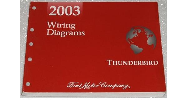 2003 ford thunderbird wiring diagrams: ford motor company: amazon.com: books  amazon.com
