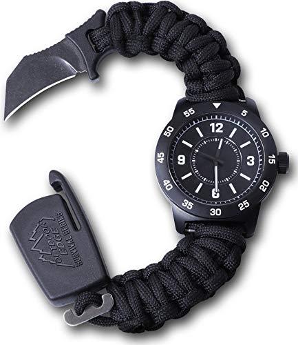 Outdoor Edge OEPW80Z-BRK Paraclaw CQD Watch - Watch Knife