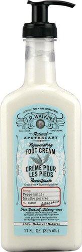 J. R. Watkins Foot Cream Rejuvenating Peppermint -- 11 fl oz - 2pc (Cream Watkins Rejuvenating Foot)