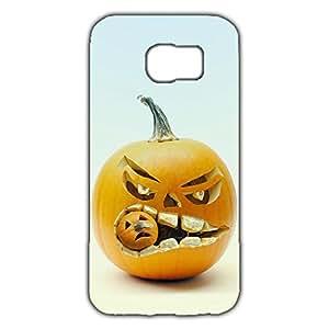 Customized Halloween Phone Case Funny Pumpkin Samsung Galaxy S6 Case