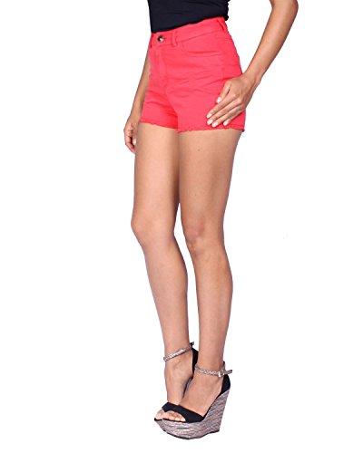 Donna Rosso Kaporal da Shorts Pantaloncini LUTOSE gcgFAt6