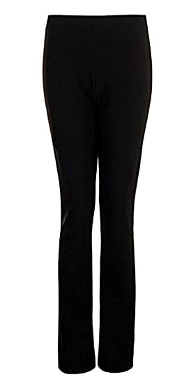 Size 10 to 24 2 PAIRS IN NAVY Ladies Finely Ribbed Bootleg STRETCH Trousers