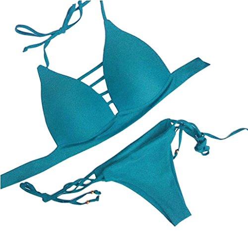 Ciel Maillot Bikini Amlaiworld Bain Rembourré Bleu Soutien Ensemble Maillots Femmes Pour Sexy gorge De YqHxBOHP