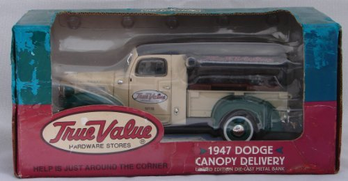 1947 Dodge Canopy Delivery Truck Metal Bank