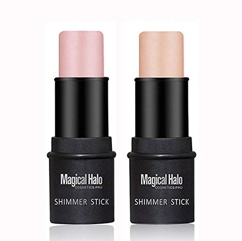Highlighter Stick Shimmer Cream Powder Waterproof Light Face Cosmetics (2 colors)