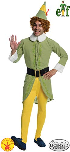Costume For Family Of 3 (Elf Movie Buddy The Elf Costume, Green,)
