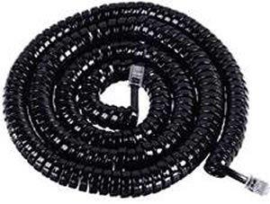 ICC GCHA444025-FBK / 25' BLACK Handset Cord