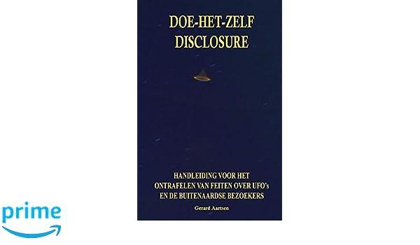 Amazon.com: Doe-het-zelf Disclosure: Handleiding voor het ...