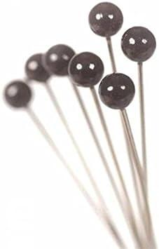 4mm head 4cm long /Épingles /à t/ête ronde pour mariages et boutonni/ères Longueur 4/cm blanc