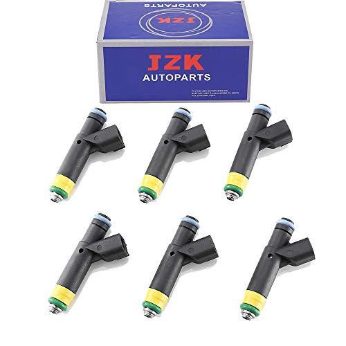 Injector Ford Set Fuel - JZK Fuel Injectors 6pcs/Set CM4955 YR3E-A6A YR3Z-AA for Fo-rd Winstar Mustang 3.8L V6 YR3E-A6A 1F2E-B4A 9F593