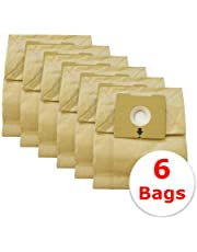 Bissell Vacuum Bags Zing PowerForce - Canister Bags Compatible for Zing PowerForce 4122, 4122D, 1668, 1668C, 1668W, 2154A, 2154C, 2154W, 1608 Models, Paper Vacuum Cleaner Dust Bag Number 213-8425