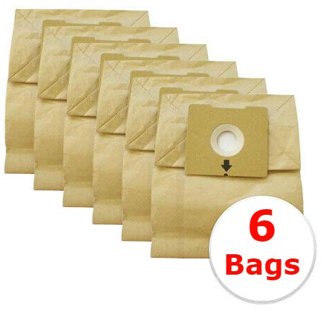 7fbf640bb2ab Bissell Zing Vacuum Bags 4122 - Compatible Replacement bags by Vacurama for  Zing and PowerForce Canister Models 4122, 4122D, 1668, 1668C, 1668W, ...