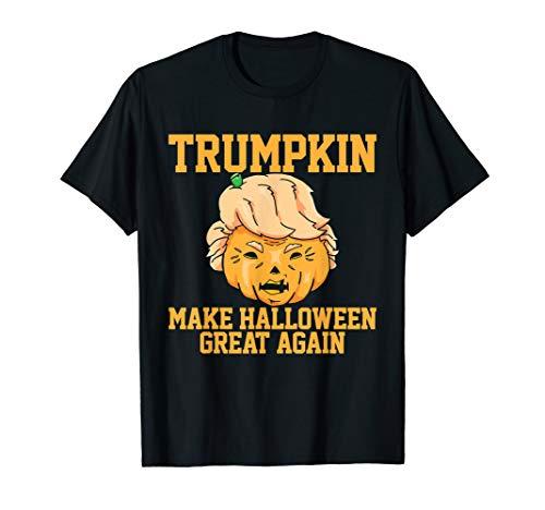 Halloween T Shirt Trumpkin Tshirt Funny Costume