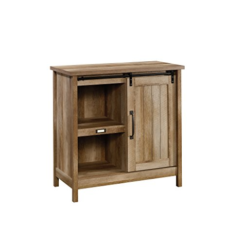 (Sauder 422473 Adept Storage Accent Storage Cabinet, For TV's up to 39