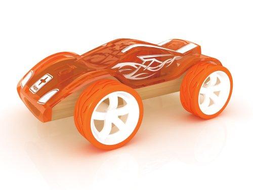 Hape Bamboo Mini Twin Turbo Kids Play Vehicle