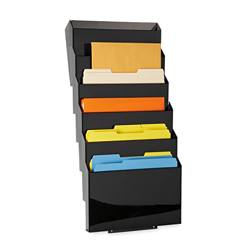 Rubbermaid Classic Wall-Mounted File Sorter, 7-Pocket (L16663) by Rubbermaid