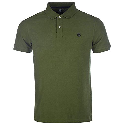 Timberland Herren SS Kennebec River Bürste Polo Shirt in Grün