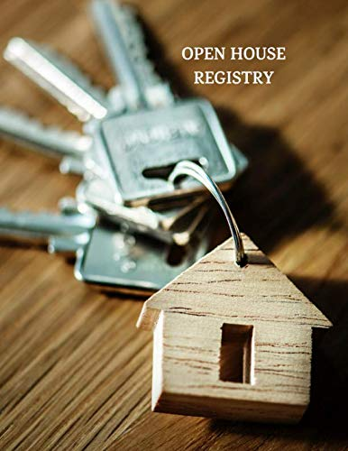 - Open House Registry: Guest and Visitors Sign In Book (keys)
