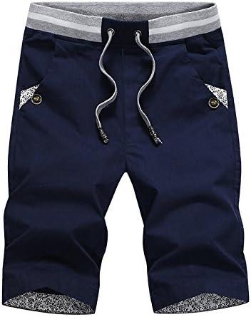 WDDGPZ Pantalones Cortos De Playa/Moda Casual Verano Cortos Hombre Algodón Playa Sólido Mens Shorts Cómodos Shorts Hombre Macho: Amazon.es: Deportes y aire libre
