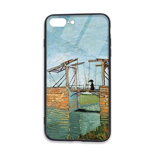 - Langlois Bridge at Arles Shockproof Series Hard PC+ TPU Bumper Protective Case for iPhone 7/8 Plus Case