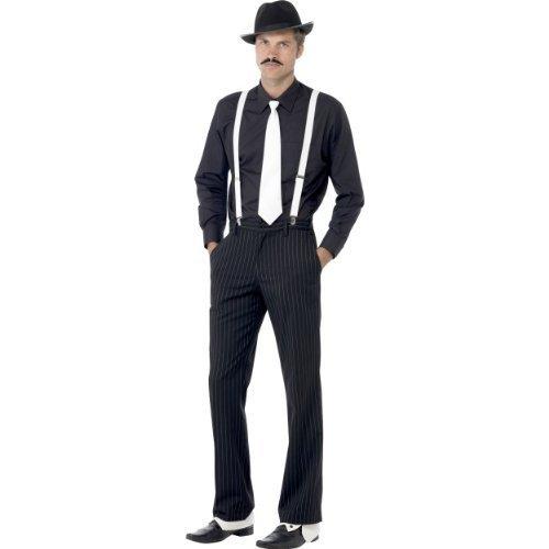 glamour gangster fancy dress - 2